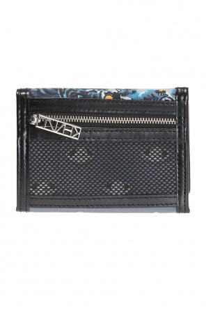 Patterned wallet with rubber logo od Kenzo