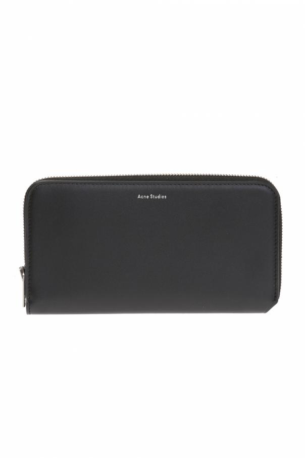 'fluorite' wallet with logo od Acne