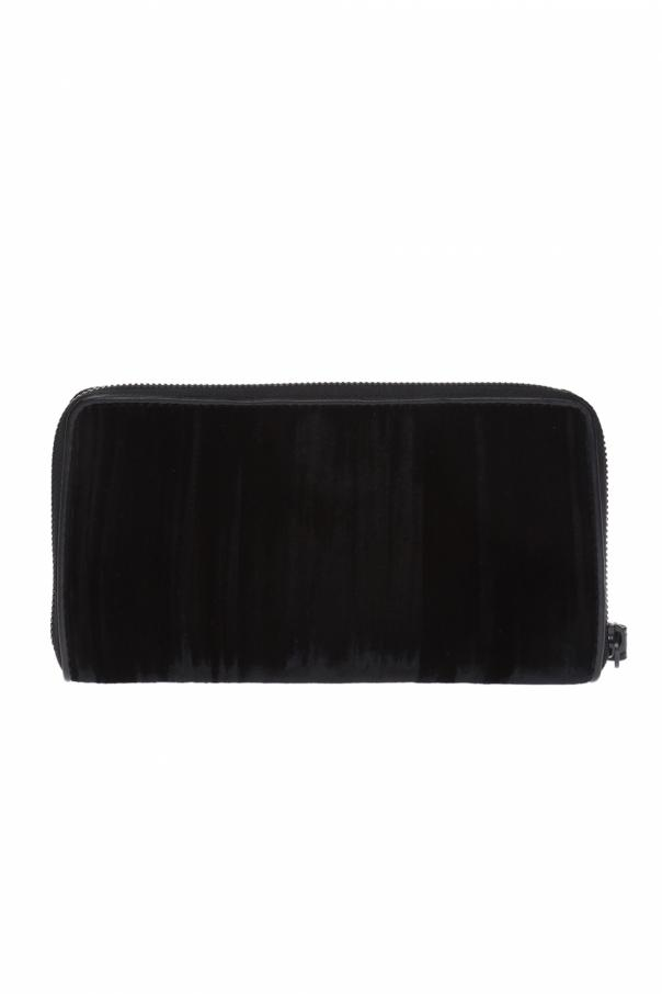Velvet wallet with logo od Diesel