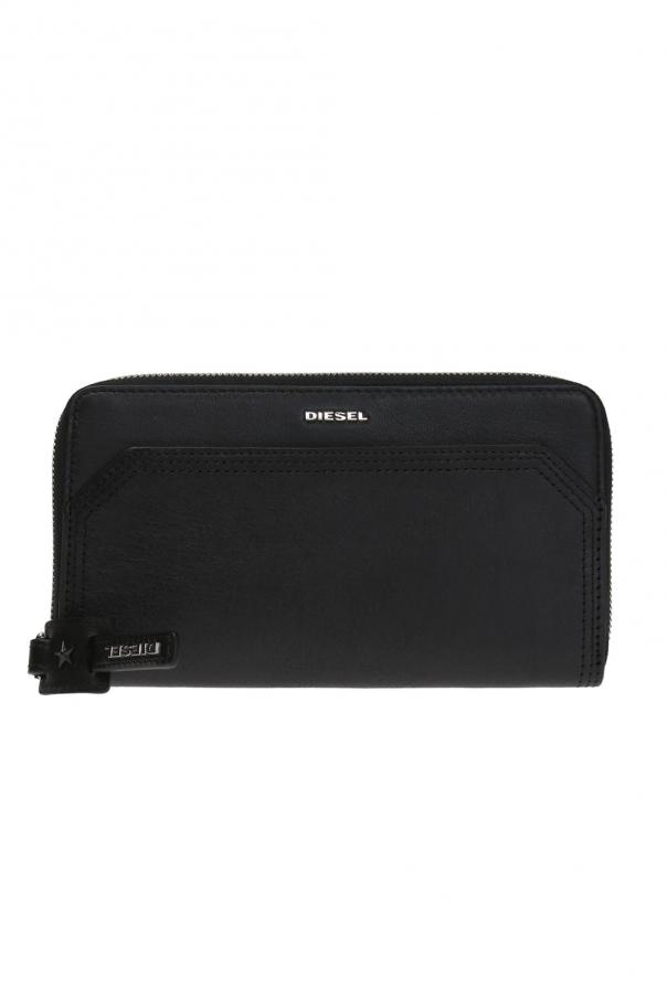 Diesel Granato' wallet with a logo