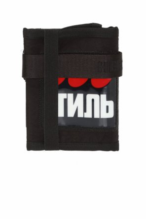 Shoulder strap wallet od Heron Preston