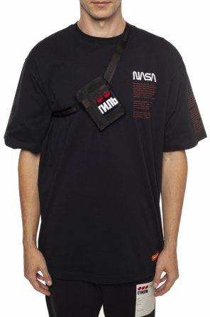 Shoulder strap wallet od Heron Preston