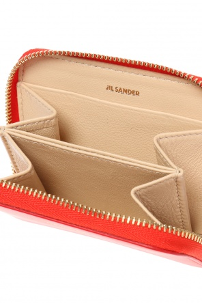Wallet with a printed logo od JIL SANDER