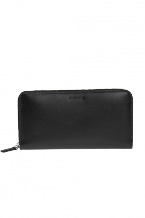 Wallet with an embossed logo od JIL SANDER
