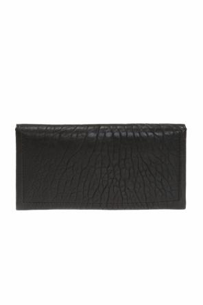 Laina' wallet with a logo od Jimmy Choo