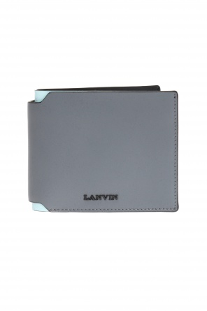 Bi-fold wallet with logo od Lanvin
