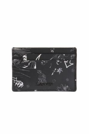Printed card case od Lanvin