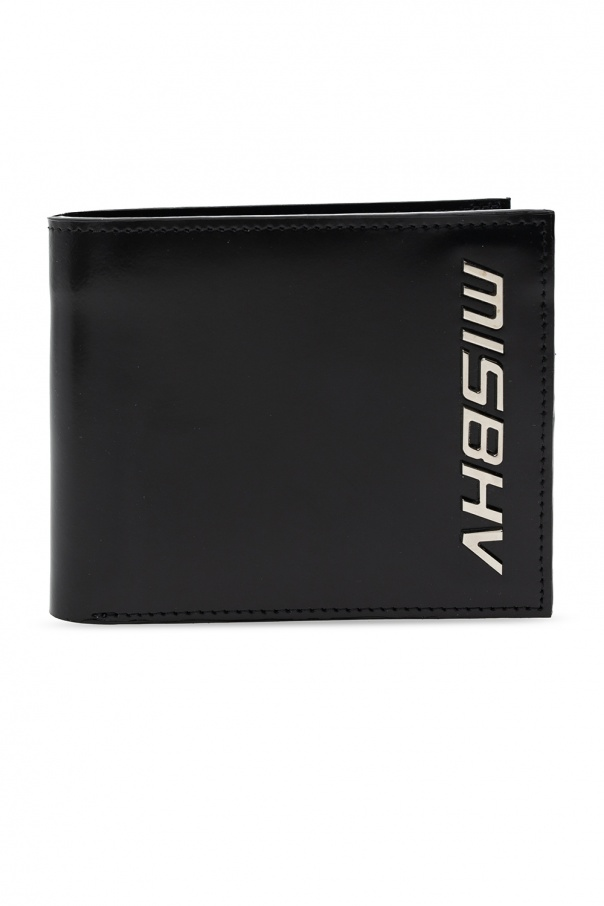 MISBHV Folding wallet with logo