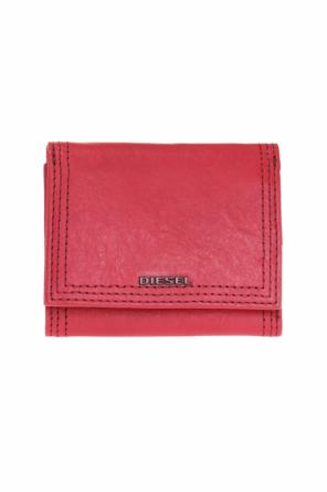 Loreta' wallet with a metal logo od Diesel