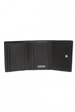 'loretta' wallet with logo od Diesel