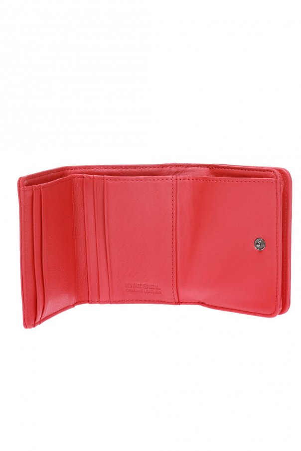 Wallet with a raised logo od Diesel