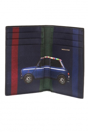 Bifold card case with a logo od Paul Smith