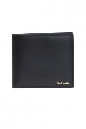 Logo-embossed bi-fold wallet od Paul Smith
