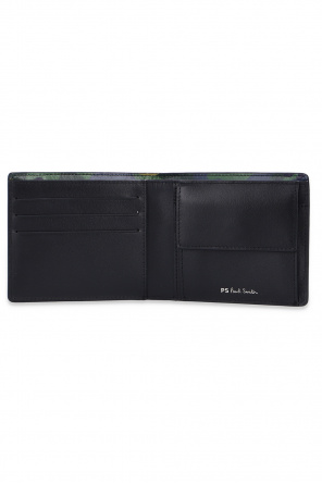 Bifold wallet with camo print od PS Paul Smith