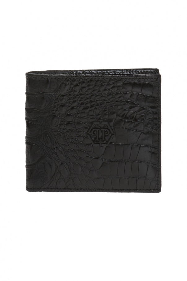b6d1af449f256 Składany portfel z logo Philipp Plein - sklep internetowy Vitkac