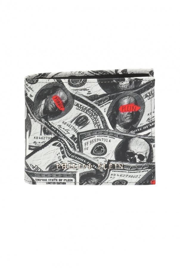 4944cf6831e2e Wzorzysty portfel Philipp Plein - sklep internetowy Vitkac