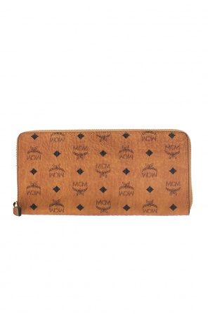 Patterned wallet od MCM