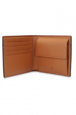 Wallet with logo od MCM
