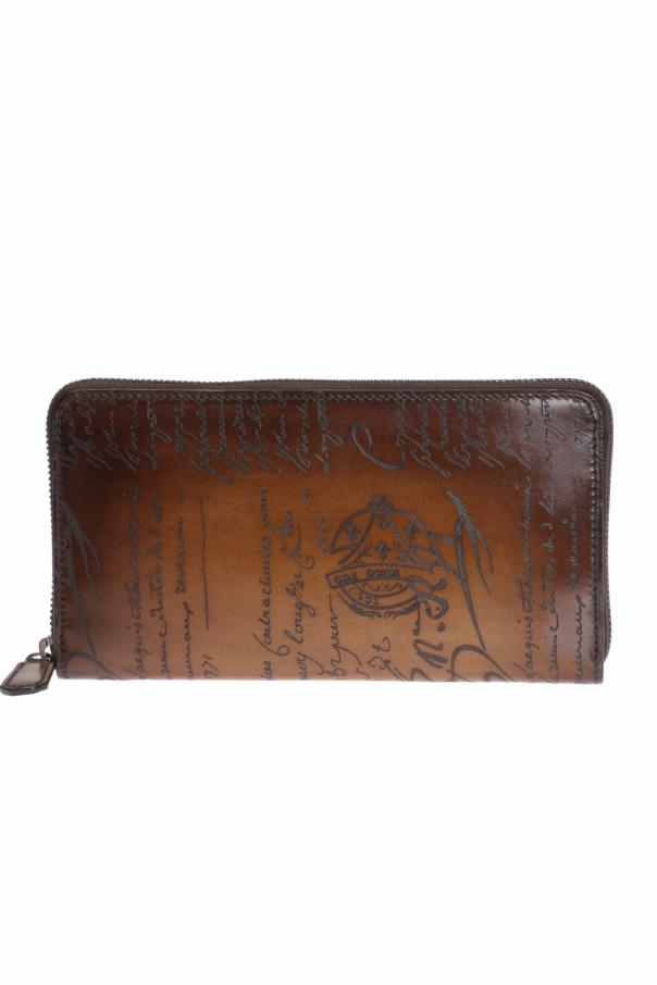 Berluti Itauba Leather Long Zipped Wallet