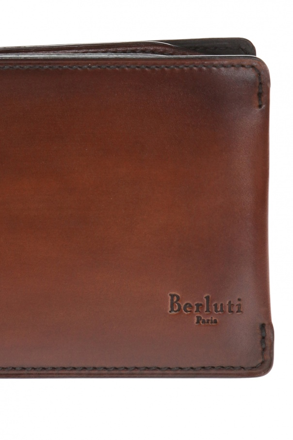 Bi-fold wallet with logo od Berluti
