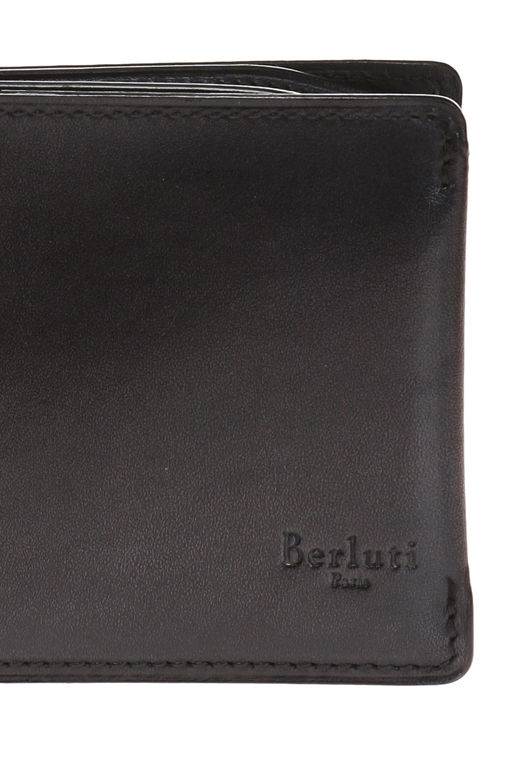 Berluti Bi-fold wallet with logo