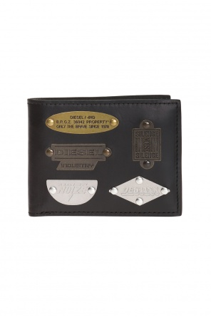 'neela' wallet with metal applications od Diesel