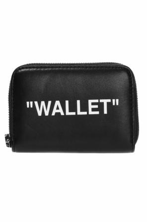 Wallet with prints od Off White