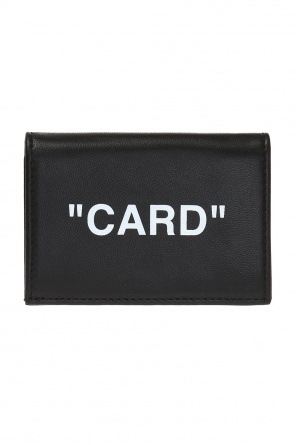 Folding card case od Off White