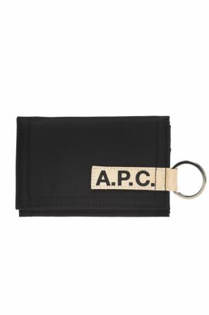 Wallet with a logo od APC