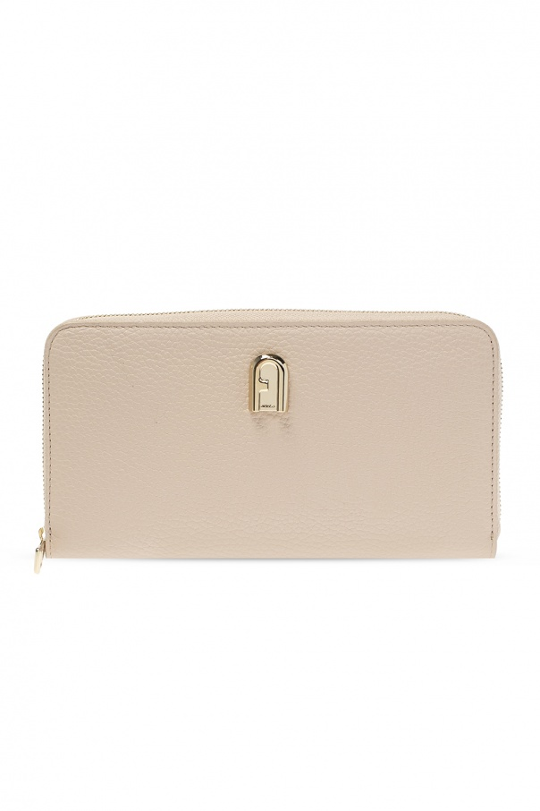 Furla 'Sleek' wallet with logo