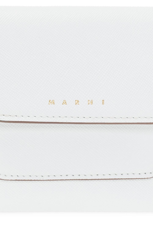 Marni Składany portfel z logo
