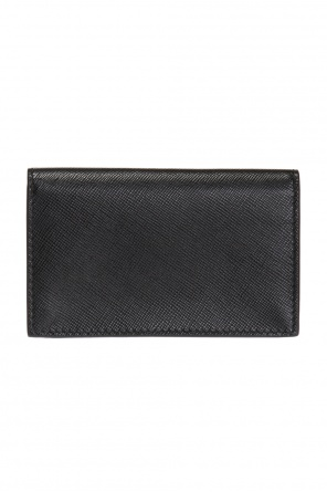 Logo-embossed card case od Marni