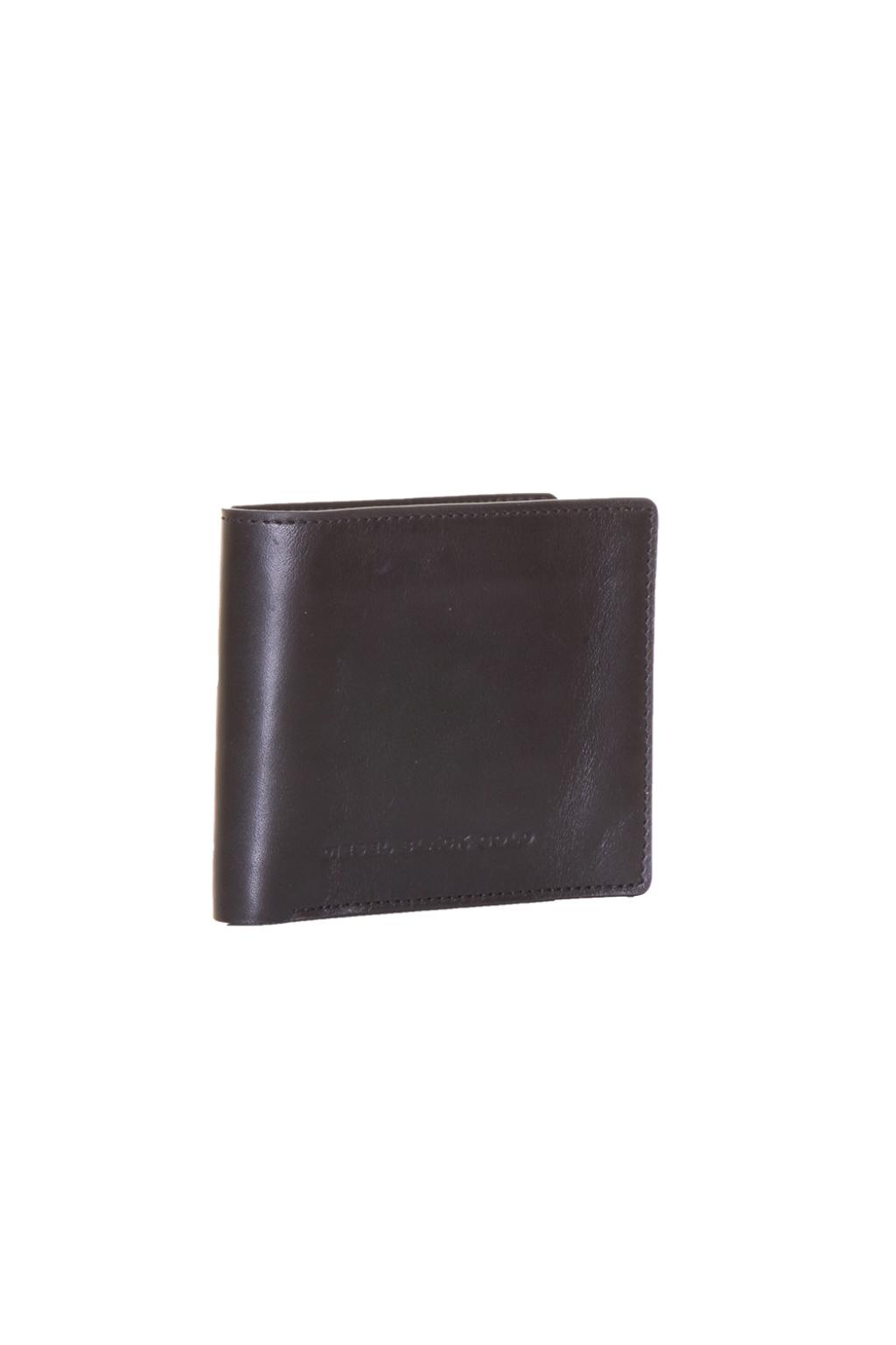 Diesel Black Gold Leather Wallet
