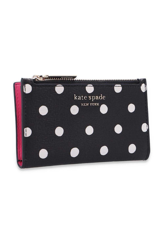 Kate Spade 圆点图案饰钱包