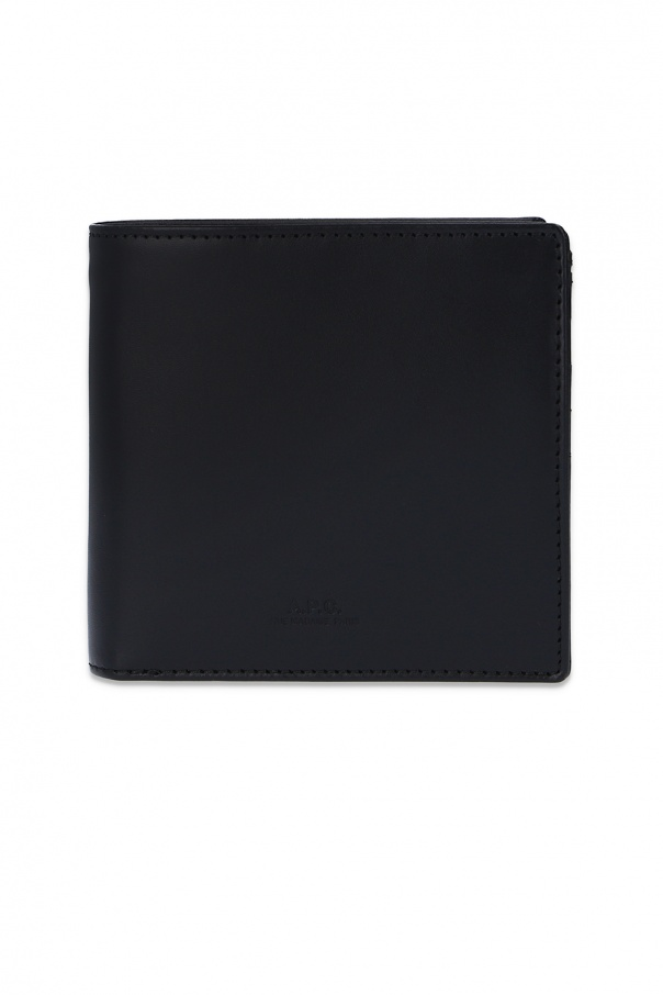 A.P.C. 'New London' leather wallet