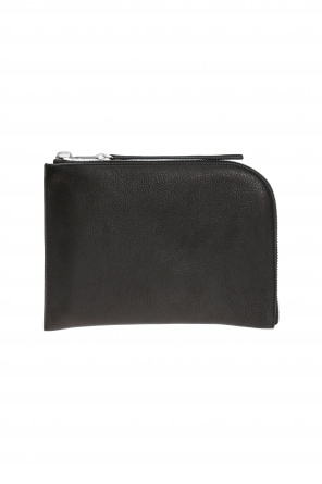 Logo-embossed clutch od Rick Owens