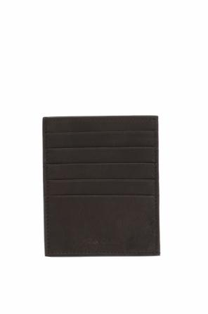 Logo-embossed card case od Rick Owens