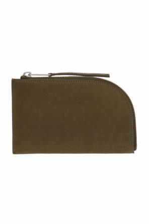 Wallet with embossed logo od Rick Owens