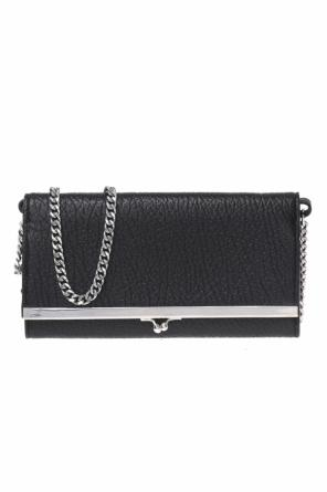 Leather wallet on chain od Maison Margiela