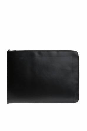 Laptop case with logo od Maison Margiela