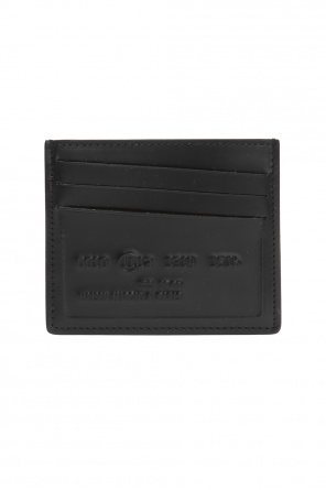 Stitching detail card case od Maison Margiela