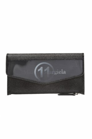 Leather wallet with logo od Maison Margiela