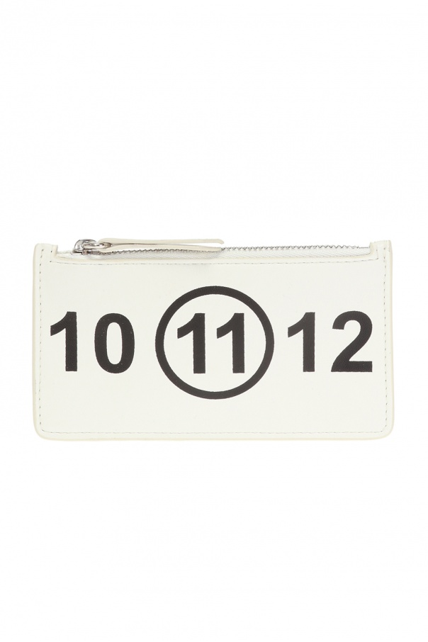 new styles 3a20b 39e4a Card holder with logo Maison Margiela - Vitkac shop online