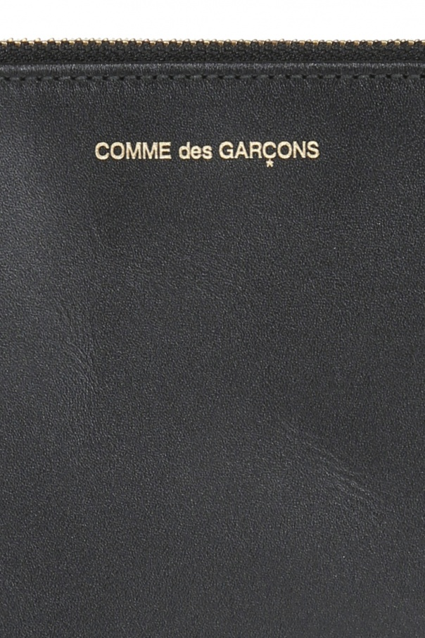 Embossed logo leather pouch od Comme des Garcons