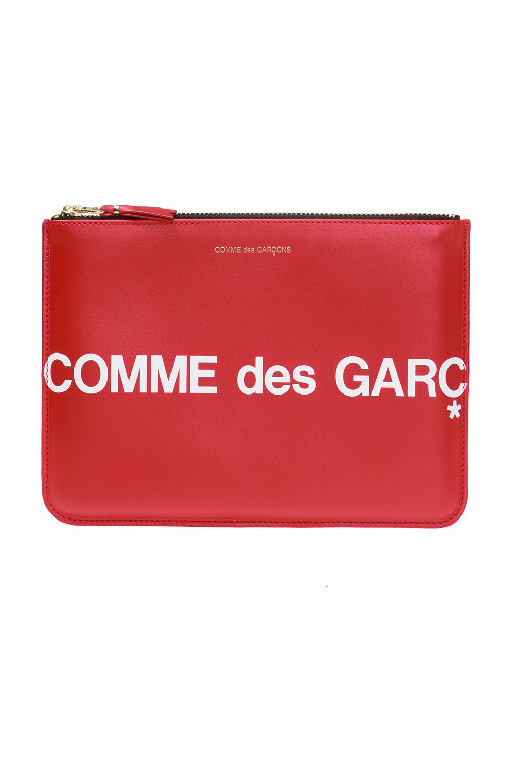 Comme des Garcons Logo-printed pouch