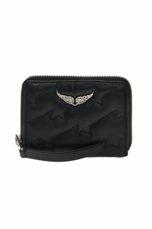 Quilted wallet with logo od Zadig & Voltaire