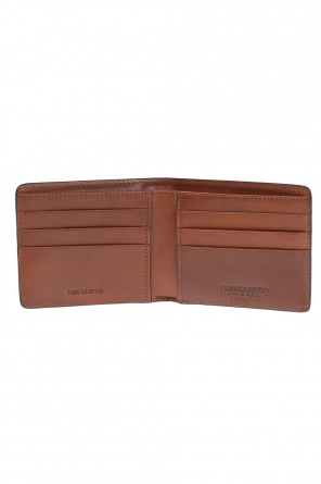 Leather bi-fold wallet od Dsquared2