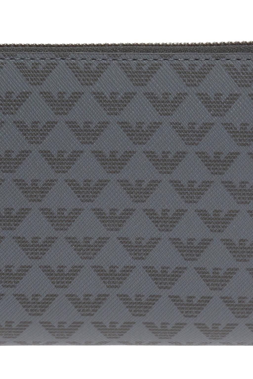 Emporio Armani Portfel z nadrukiem z logo