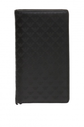 Wallet with raised logo od Emporio Armani