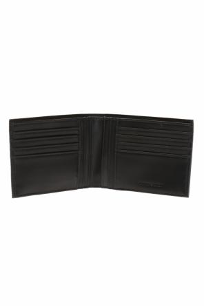 Bi-fold wallet with metal logo od Emporio Armani